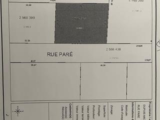 Terrain à vendre à Saint-Lin/Laurentides, Lanaudière, Rue  Paré, 10031021 - Centris.ca