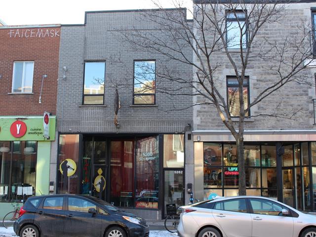 Bâtisse commerciale à vendre à Montréal (Le Plateau-Mont-Royal), Montréal (Île), 5260 - 5262, boulevard  Saint-Laurent, 27170554 - Centris.ca