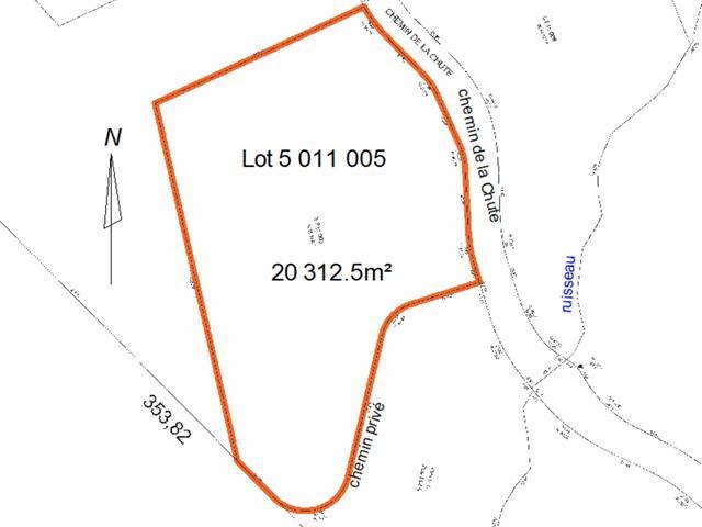 Lot for sale in Saint-Donat (Lanaudière), Lanaudière, Chemin de la Chute, 23414156 - Centris.ca