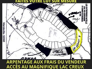 Terrain à vendre à Mandeville, Lanaudière, Lac  Creux, 18272583 - Centris.ca