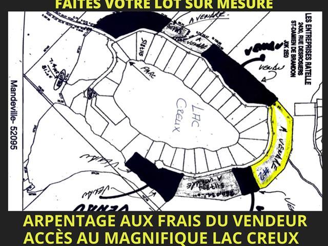 Lot for sale in Mandeville, Lanaudière, Lac  Creux, 18272583 - Centris.ca