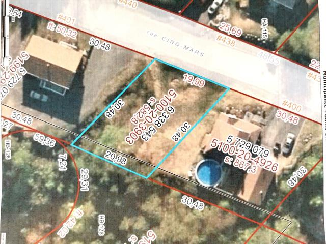 Lot for sale in Saint-Siméon (Capitale-Nationale), Capitale-Nationale, Rue de la Fabrique, 22425565 - Centris.ca