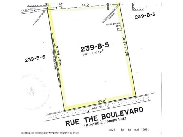 Terrain à vendre à Westmount, Montréal (Île), boulevard  The Boulevard, 28296827 - Centris.ca