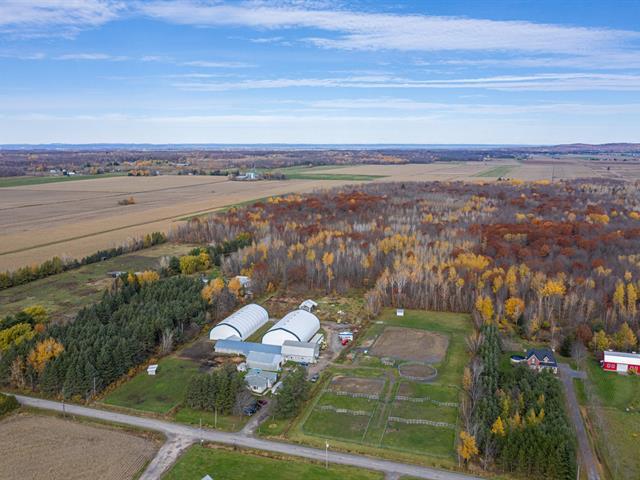 Hobby farm for sale in Sainte-Justine-de-Newton, Montérégie, 1750, 4e Rang, 12303527 - Centris.ca