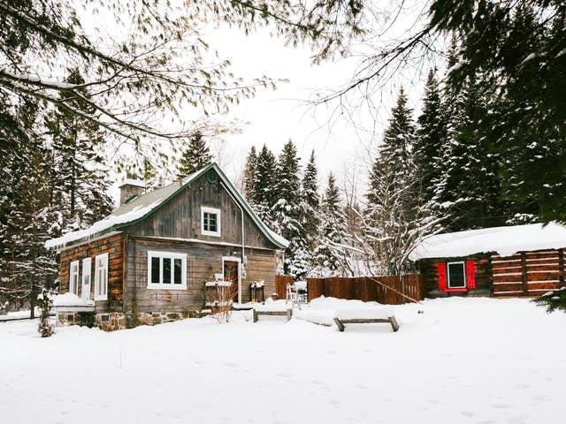 Cottage for sale in Sainte-Agathe-des-Monts, Laurentides, 1882, Chemin de Sainte-Lucie, 21195290 - Centris.ca