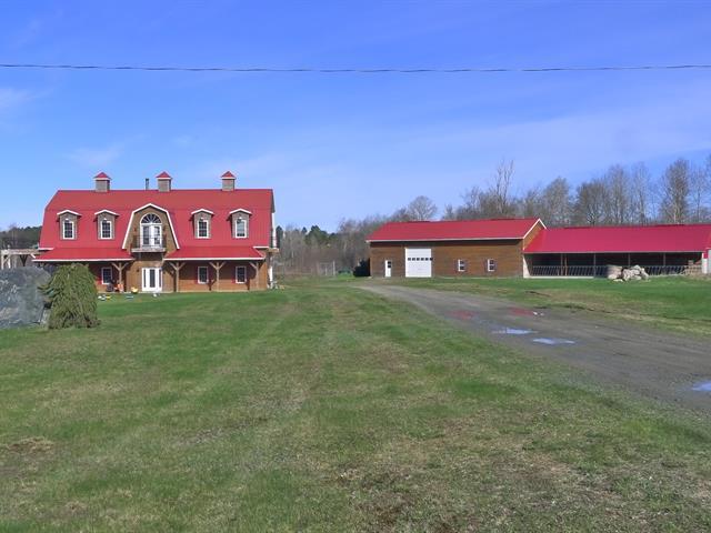 Hobby farm for sale in Notre-Dame-de-Ham, Centre-du-Québec, 46B, 2e Rang Sud, 12910525 - Centris.ca