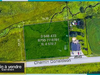 Lot for sale in L'Ange-Gardien (Outaouais), Outaouais, Chemin  Donaldson, 17916353 - Centris.ca