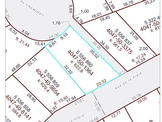 Lot for sale in La Pocatière, Bas-Saint-Laurent, Rue de la Vigie, 28938589 - Centris.ca