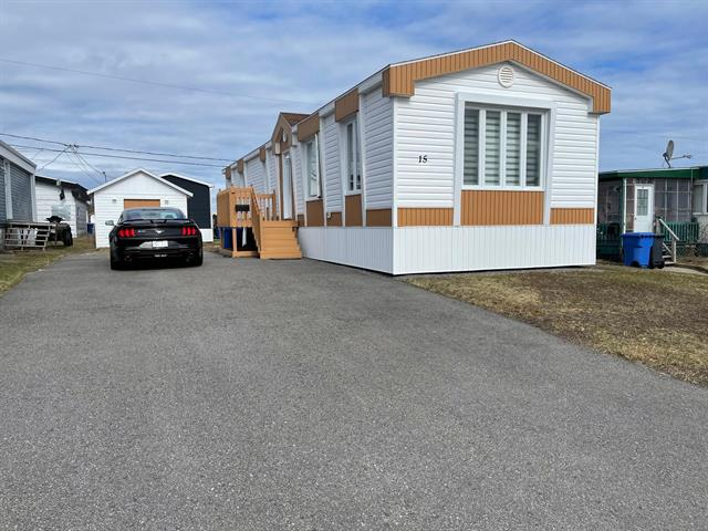 Mobile home for sale in Port-Cartier, Côte-Nord, 15, Rue  Gaudreault, 16998929 - Centris.ca