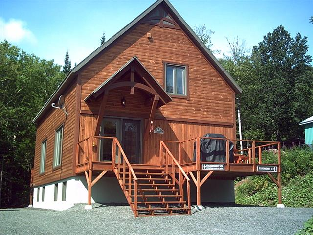 Duplex for sale in Sainte-Irène, Bas-Saint-Laurent, 43 - 43A, Rue de la Poudreuse, 25362126 - Centris.ca