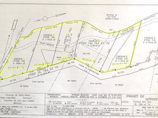 Terrain à vendre à Lac-aux-Sables, Mauricie, Chemin du Lac-Huron, 16427592 - Centris.ca