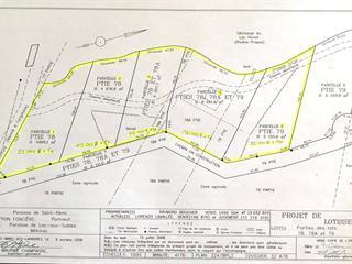 Terrain à vendre à Lac-aux-Sables, Mauricie, Chemin du Lac-Huron, 25235436 - Centris.ca