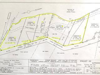 Terrain à vendre à Lac-aux-Sables, Mauricie, Chemin du Lac-Huron, 19102645 - Centris.ca