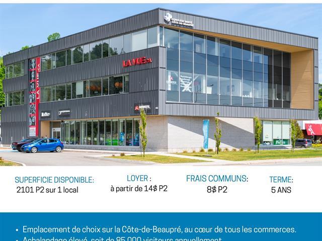 Commercial unit for rent in Sainte-Anne-de-Beaupré, Capitale-Nationale, 9745, boulevard  Sainte-Anne, 21355051 - Centris.ca