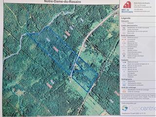 Land for sale in Notre-Dame-du-Rosaire, Chaudière-Appalaches, Rue  Jolicoeur, 18221781 - Centris.ca