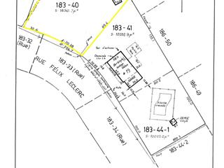 Terrain à vendre à Saint-Jean-sur-Richelieu, Montérégie, Rue  Félix-Leclerc, 19479476 - Centris.ca
