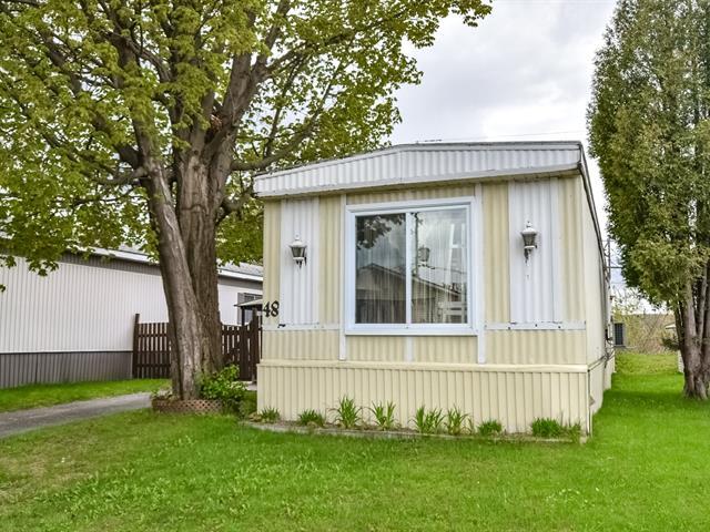 Mobile home for sale in Laval (Fabreville), Laval, 3940, boulevard  Dagenais Ouest, apt. 48, 17542610 - Centris.ca