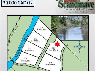 Terrain à vendre à Lac-aux-Sables, Mauricie, Chemin de l'Épinette, 23770321 - Centris.ca