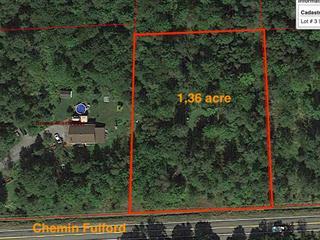 Terrain à vendre à Lac-Brome, Montérégie, Chemin de Fulford, 16184487 - Centris.ca