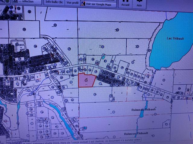 Terre à vendre à Mont-Laurier, Laurentides, Rue de la Providence, 17766651 - Centris.ca