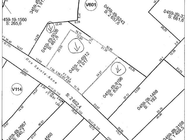 Terrain à vendre à Sainte-Anne-de-la-Pérade, Mauricie, Rue  Sainte-Anne, 21693521 - Centris.ca