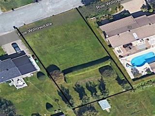 Terrain à vendre à Sherbrooke (Lennoxville), Estrie, Rue  Willowdale, 11083473 - Centris.ca