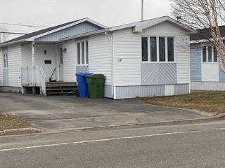 Mobile home for sale in Sept-Îles, Côte-Nord, 17, Rue des Plaquebières, 17985505 - Centris.ca