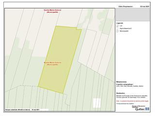 Land for sale in Sainte-Marie-Salomé, Lanaudière, Chemin  Montcalm, 14386647 - Centris.ca