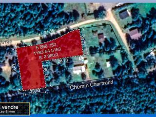 Lot for sale in Lac-Simon, Outaouais, Chemin  Chartrand, 24570830 - Centris.ca