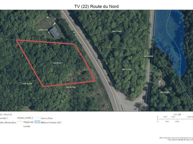 Terrain à vendre à Brownsburg-Chatham, Laurentides, Route du Nord, 22811436 - Centris.ca
