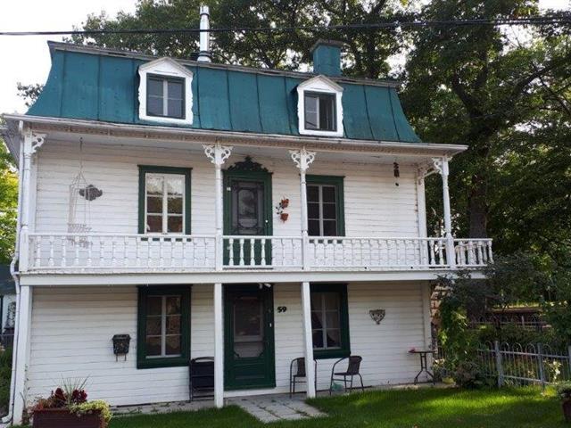 Maison à vendre à Beaumont, Chaudière-Appalaches, 57A - 59A, Chemin du Domaine, 14190626 - Centris.ca