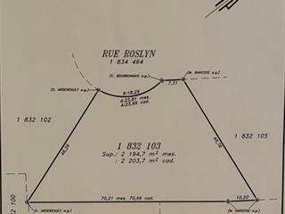 Terrain à vendre à Hudson, Montérégie, 16, Rue  Roslyn, 10393279 - Centris.ca