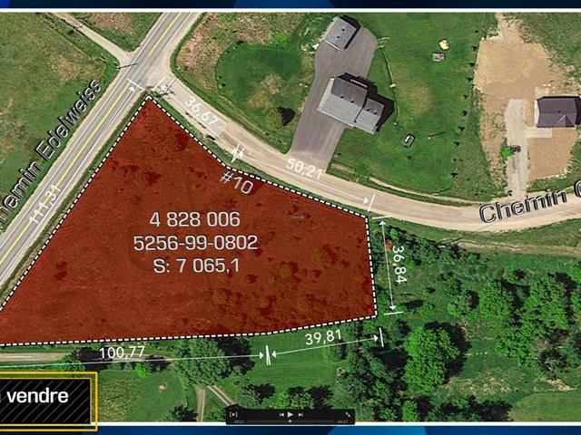 Terrain à vendre à La Pêche, Outaouais, 10, Chemin  Geggie, 10051247 - Centris.ca