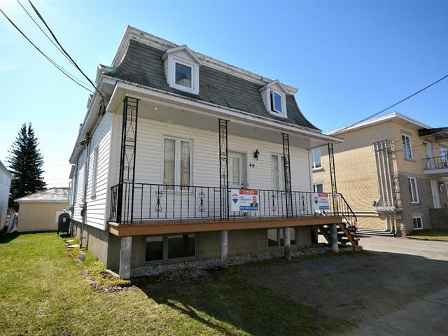 Triplex for sale in Sainte-Anne-de-la-Pérade, Mauricie, 40 - 44, Rue  Marcotte, 9054882 - Centris.ca