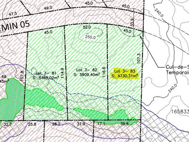 Terrain à vendre à Val-des-Monts, Outaouais, Chemin du Rubis, 13406139 - Centris.ca