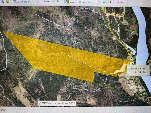 Terre à vendre à Huberdeau, Laurentides, Rue  Principale, 25253936 - Centris.ca