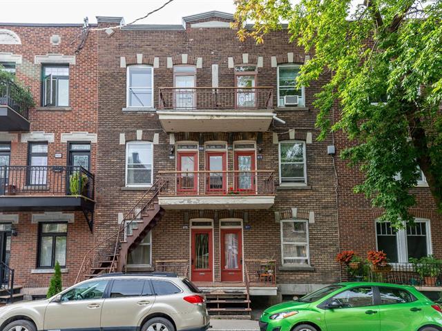 Immeuble à revenus à vendre à Montréal (Le Plateau-Mont-Royal), Montréal (Île), 967 - 977, Rue  Napoléon, 18765617 - Centris.ca