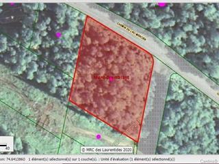 Lot for sale in Mont-Tremblant, Laurentides, Chemin du Lac-Mercier, 14924236 - Centris.ca