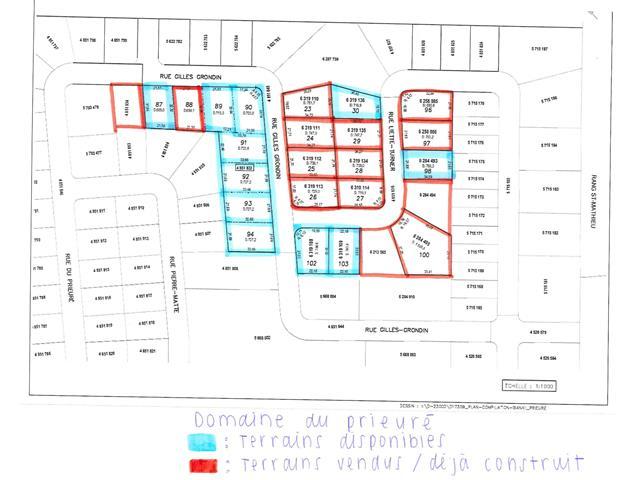 Terrain à vendre à Shawinigan, Mauricie, Rue  Gilles-Grondin, 20721832 - Centris.ca