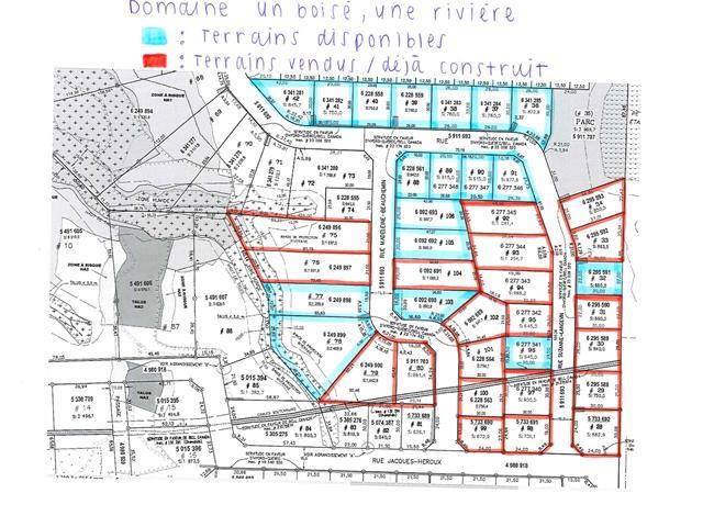 Terrain à vendre à Shawinigan, Mauricie, Rue  Suzanne-Langevin, 20333331 - Centris.ca