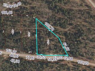 Lot for sale in Otter Lake, Outaouais, Chemin  Pelletier, 21552555 - Centris.ca