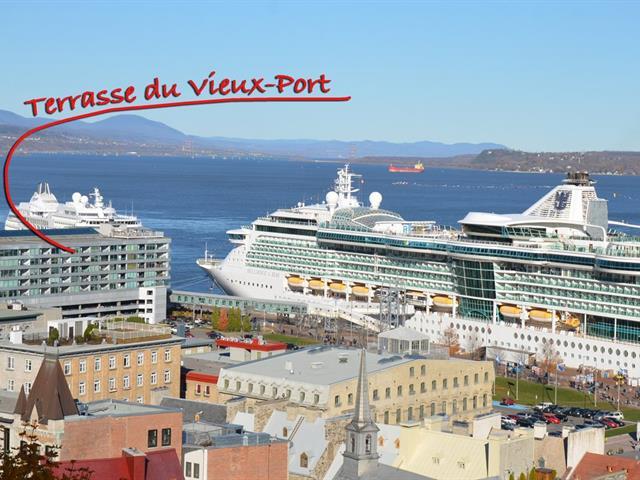 Condo à vendre à Québec (La Cité-Limoilou), Capitale-Nationale, 76, Rue  Dalhousie, app. 805, 25067358 - Centris.ca
