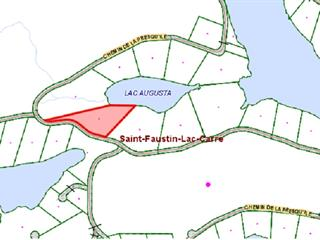 Land for sale in Saint-Faustin/Lac-Carré, Laurentides, Chemin de la Presqu'île, 28473752 - Centris.ca