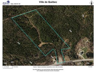 Land for sale in Québec (La Haute-Saint-Charles), Capitale-Nationale, Chemin de Bélair, 23971000 - Centris.ca