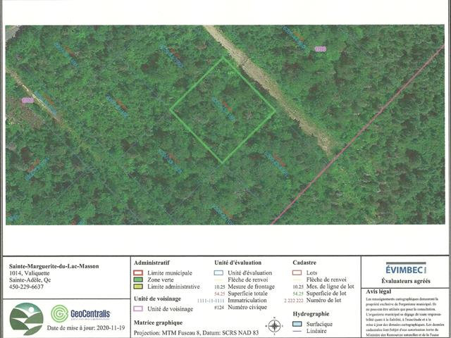 Lot for sale in Sainte-Marguerite-du-Lac-Masson, Laurentides, Rue du Sentier-du-Soleil, 18553411 - Centris.ca