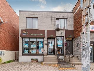 Bâtisse commerciale à vendre à Montréal (Villeray/Saint-Michel/Parc-Extension), Montréal (Île), 3398 - 3402, Rue  Jean-Talon Est, 28037530 - Centris.ca