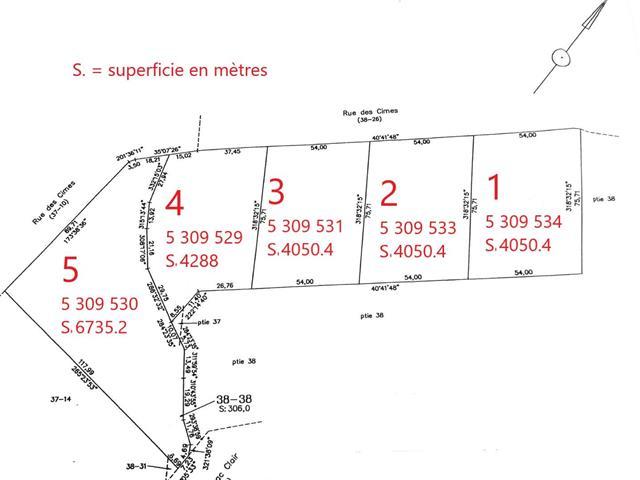 Lot for sale in Sainte-Marguerite-du-Lac-Masson, Laurentides, Rue des Cimes, 12896653 - Centris.ca