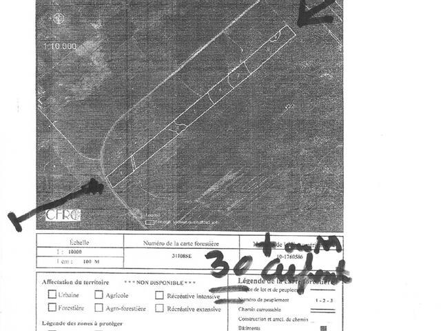 Terre à vendre à Sainte-Marie-de-Blandford, Centre-du-Québec, 6, Route des Pionniers, 27337577 - Centris.ca