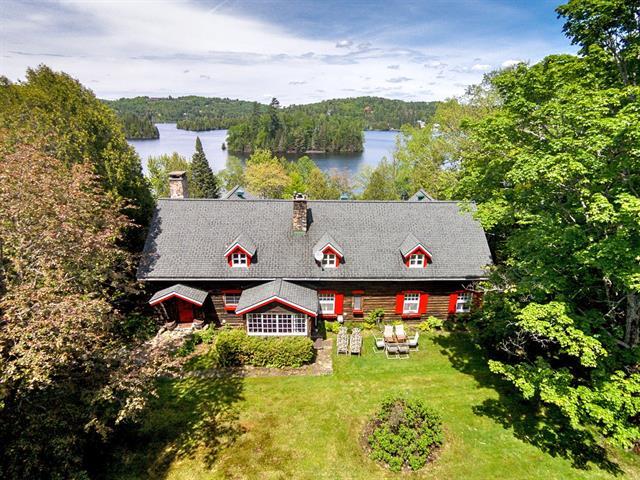 Maison à vendre à Sainte-Agathe-des-Monts, Laurentides, 9, Chemin de la Pointe-Greenshields, 11537976 - Centris.ca