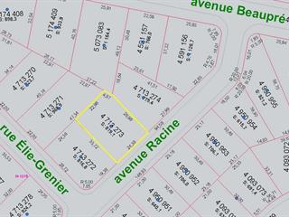 Terrain à vendre à Shawinigan, Mauricie, Avenue  Racine, 17132698 - Centris.ca